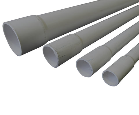 RIGID CONDUIT MD GREY 32MM X 4M