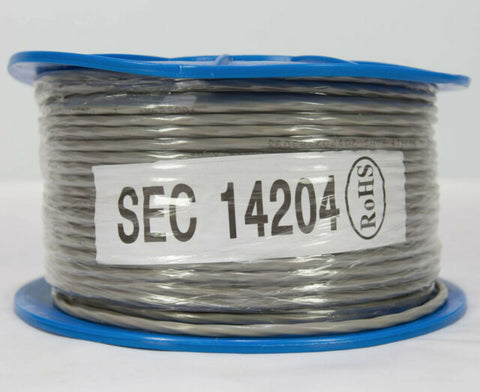 4 Core 14 Strand 4x14/0.20 Unscreened Security Cable 100 Meters
