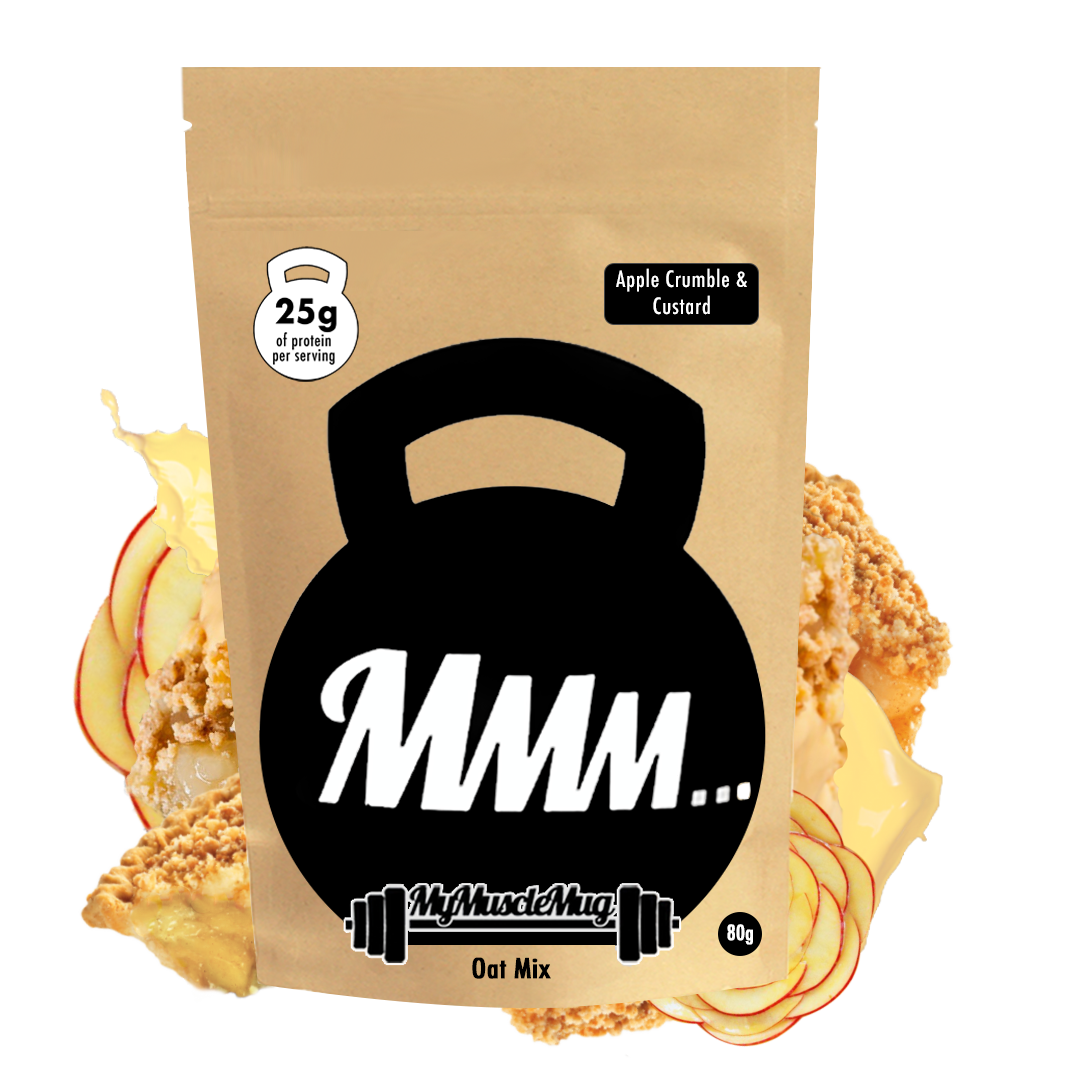 Apple Crumble & Custard MyMuscleMug Oats Mix