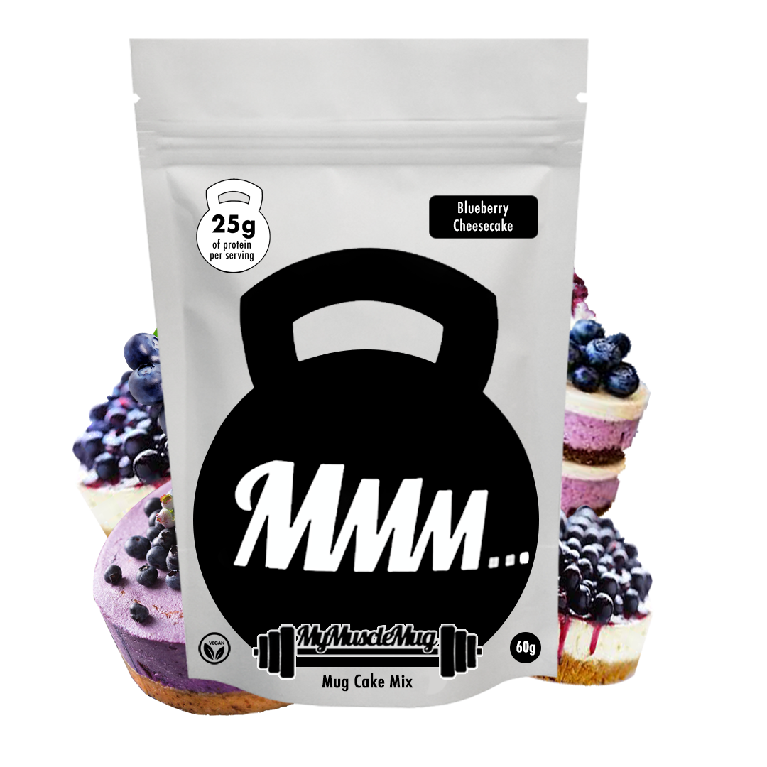 Blueberry Cheesecake MyMuscleMug Cake Mix (Vegan&Gluten Free)