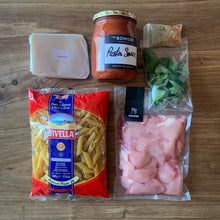 Load image into Gallery viewer, Chicken arrabiata pasta kit