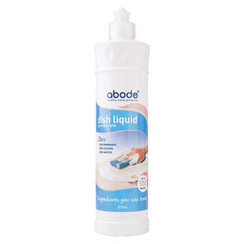 Abode Dish Liquid Concentrate Zero 600ml - The Conscious Spender
