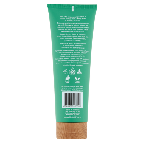 Little Innoscents Organic Spearmint & Sweet Orange Hair & Body Wash - The Conscious Spender