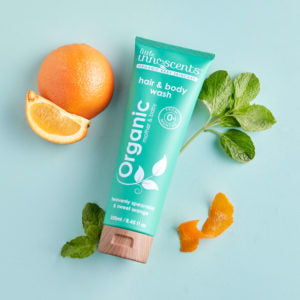Little Innoscents Organic Spearmint & Sweet Orange Hair & Body Wash