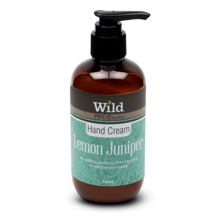 PPC Herbs Wild Lemon Juniper Hand Cream 250ml - The Conscious Spender