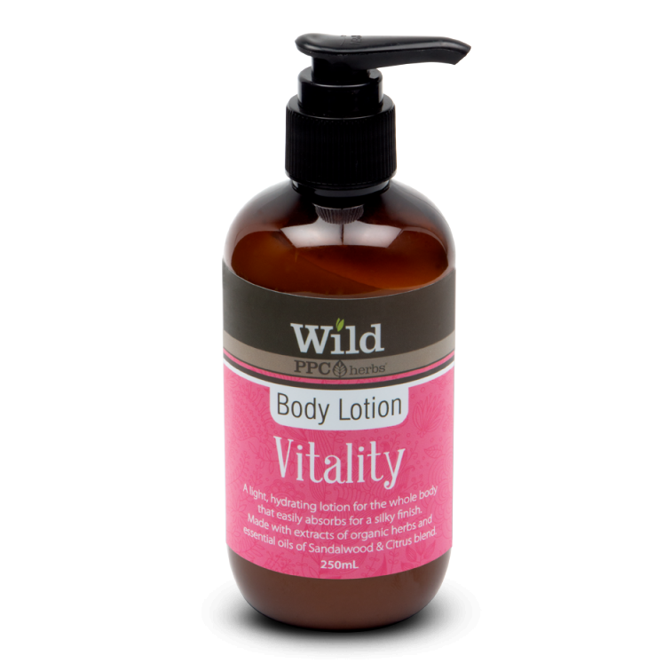 PPC Herbs Wild Vitality Body Lotion 500ml - The Conscious Spender