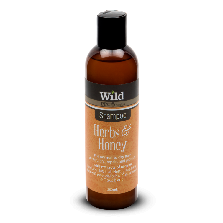 PPC Herbs Wild Herbs & Honey Shampoo - The Conscious Spender