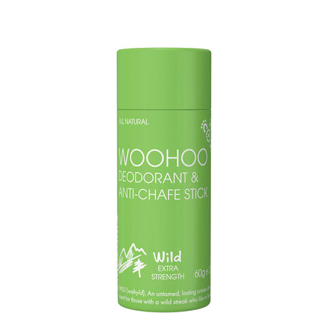 Woohoo Deodorant & Anti-Chafe Stick Wild - The Conscious Spender