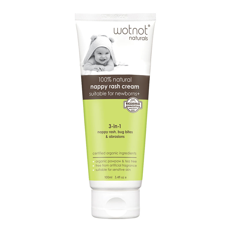 Wotnot 100% Natural Nappy Rash Cream - The Conscious Spender