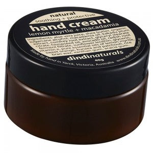 Dindi Naturals Lemon Myrtle + Macadamia Hand Cream - The Conscious Spender