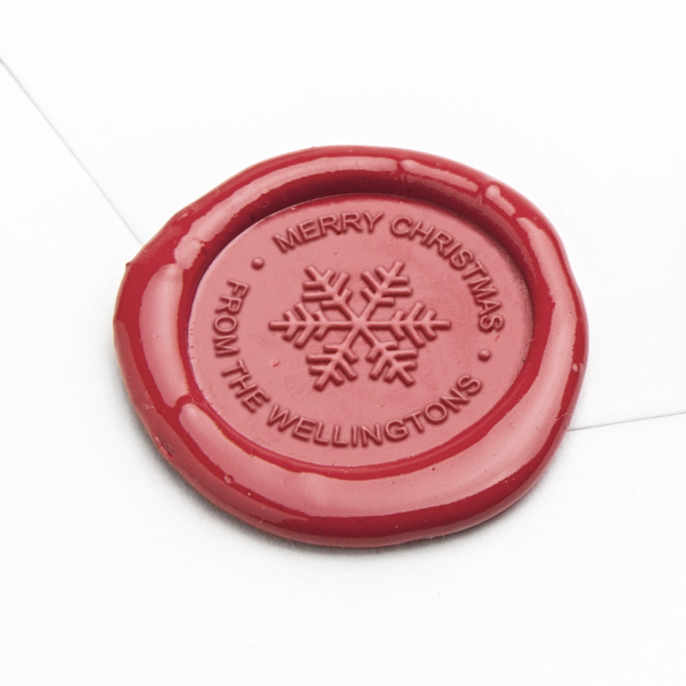 Wax Seal - Snowflake