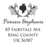 Stamp - Princess Address