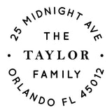 Stamp - Taylor Family