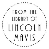 Book Stamp - Lincoln