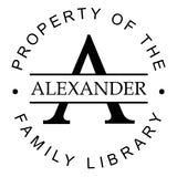 Book Stamp - Alexander Family