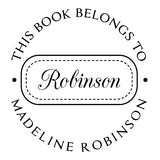 Book Stamp - Robinson