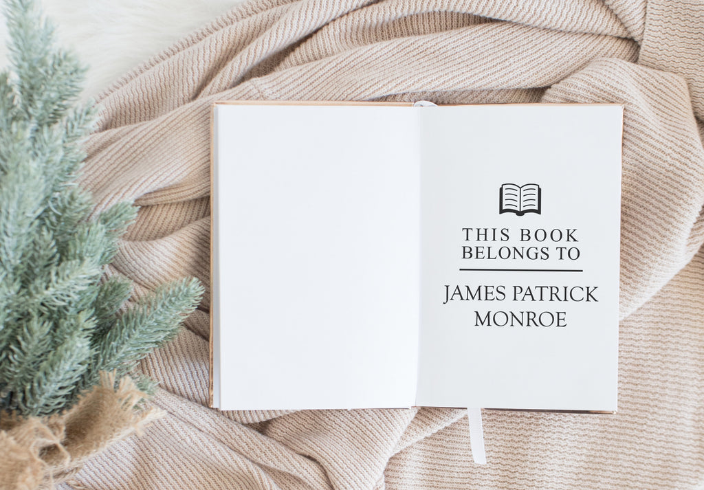 Book Stamp - James