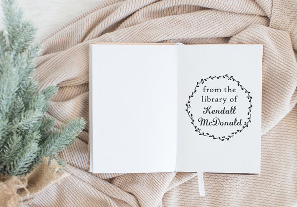 Book Stamp - Kendall