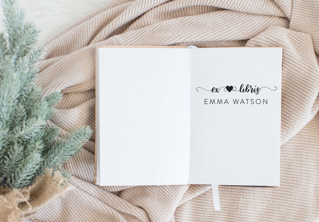 Book Stamp - Emma
