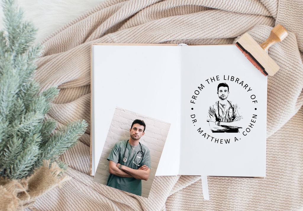 Book Stamp - Cohen Photo