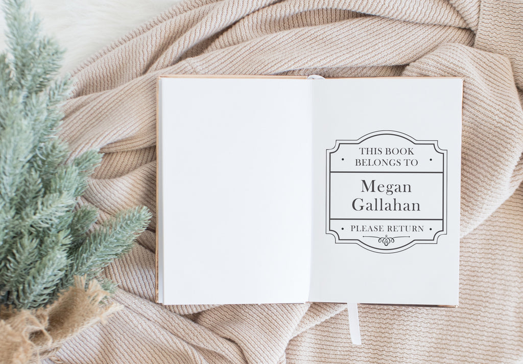 Book Stamp - Megan