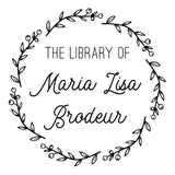 Book Stamp - Maria Lisa