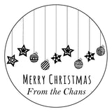 Stamp - Christmas Ornaments