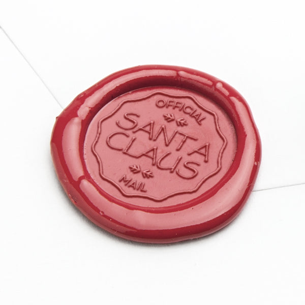 Wax Seal Stamp - Santa Mail