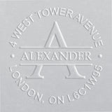 Address Embosser - Alexander
