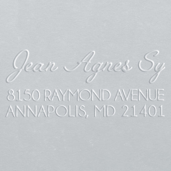 Address Embososer - Jean Agnes