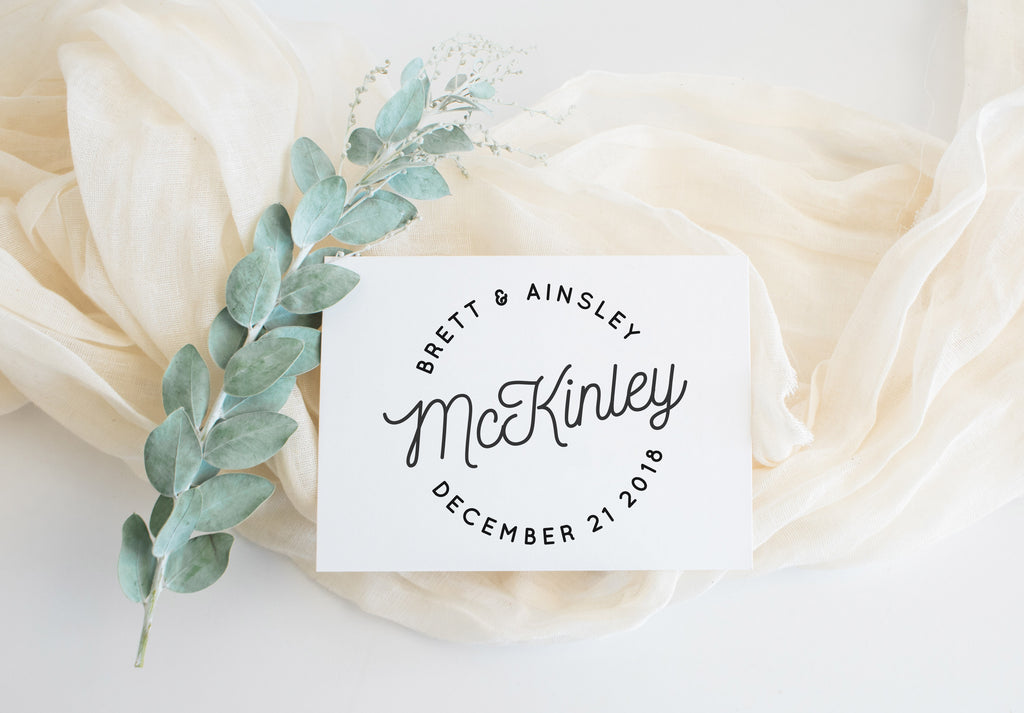 Stamp - McKinley Save the Date