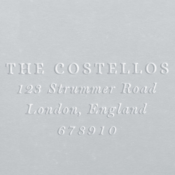 Address Embosser - Costello