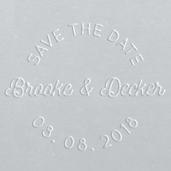Embosser - Brooke Save the Date