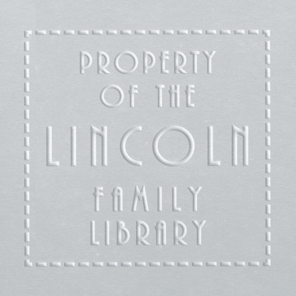 Book Embosser - Lincoln Family