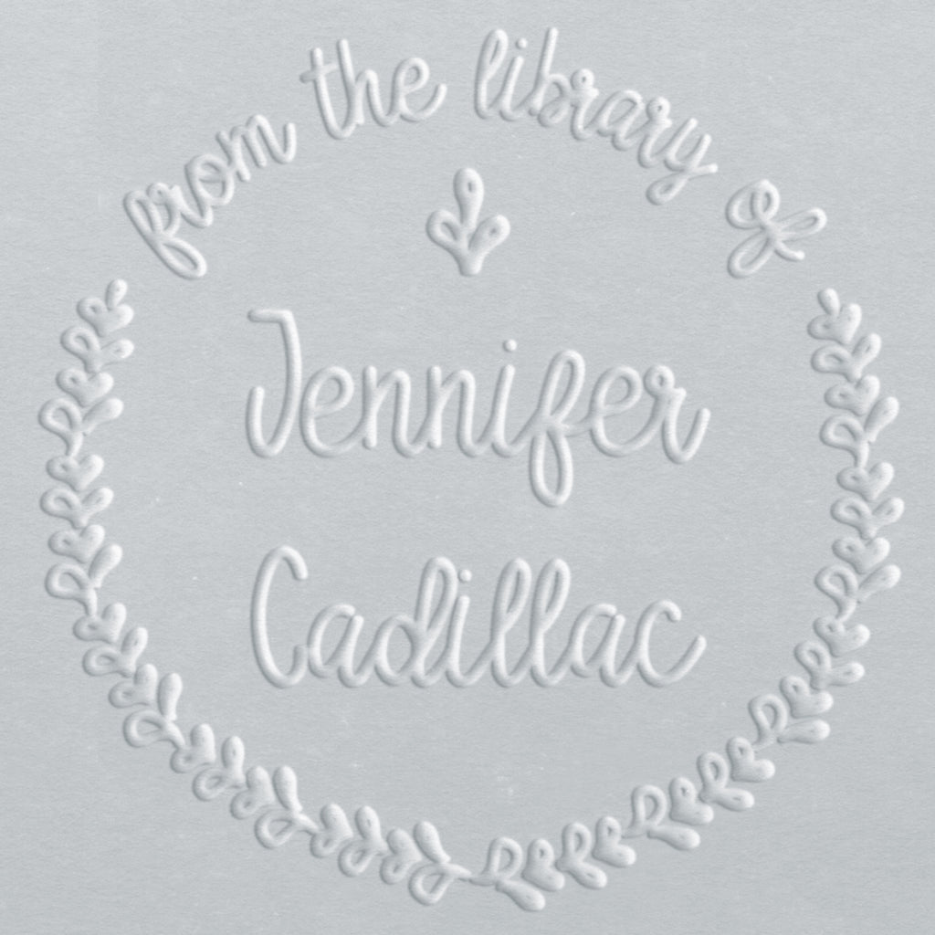 Book Embosser - Jennifer Wreath