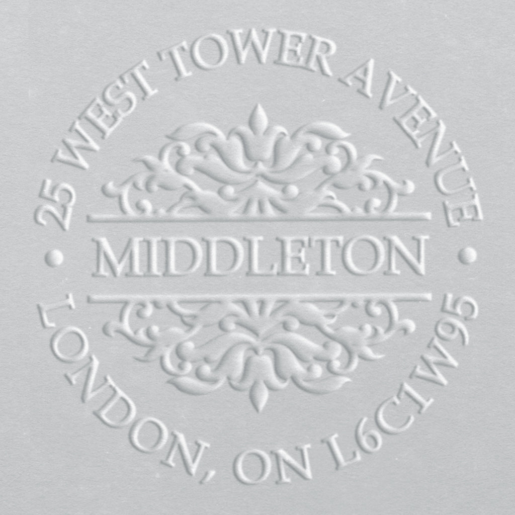 Address Embosser - Middleton
