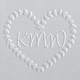 Embosser - Hearts Wreath Monogram
