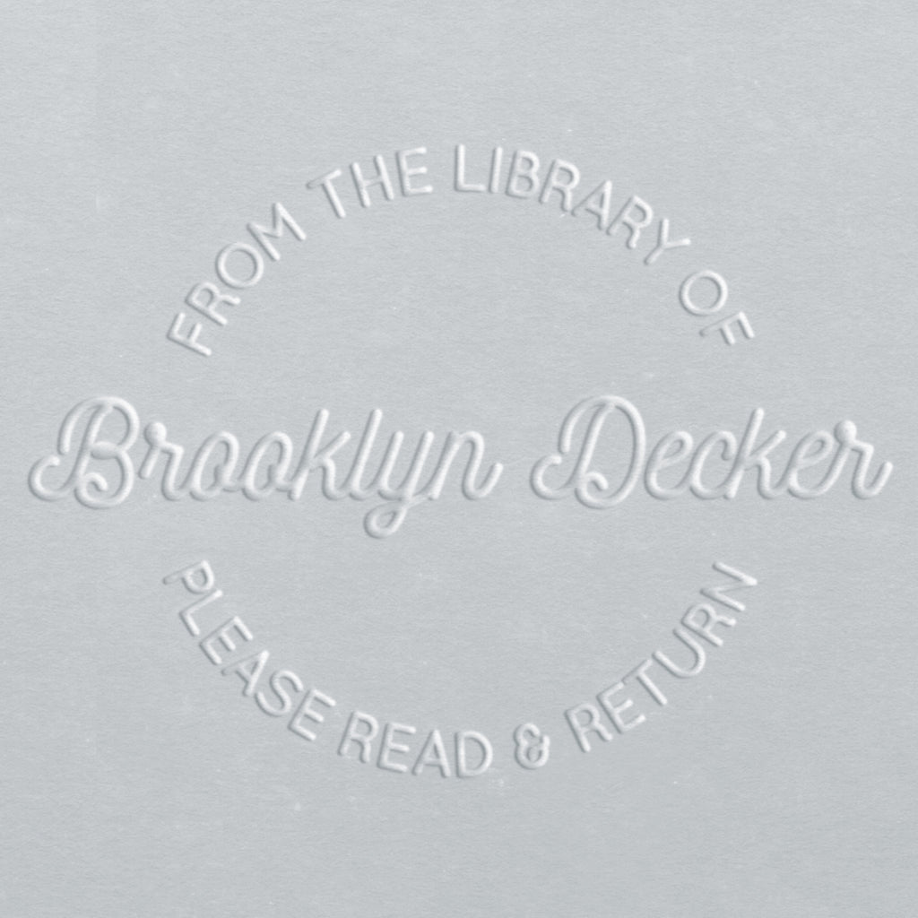 Book Embosser - Brooklyn