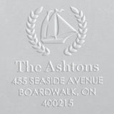 Address Embosser - Sailboat