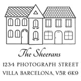 Stamp - Sheeran House