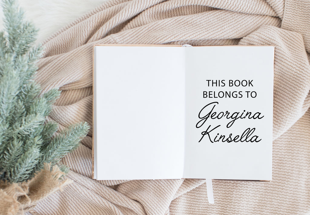 Book Stamp - Georgina