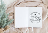 Book Stamp - Madison