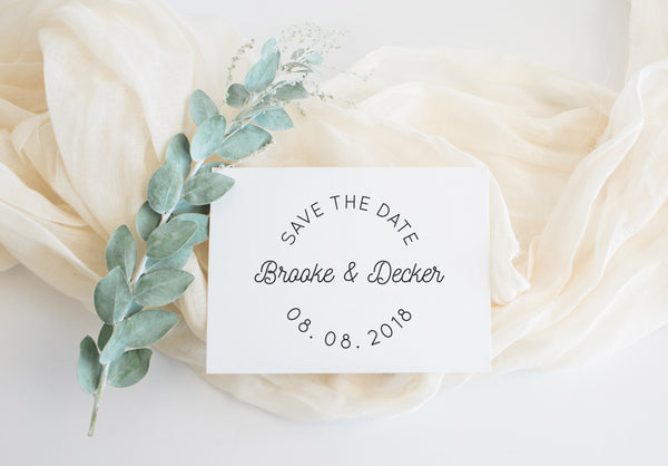 Stamp - Brooke Save the Date