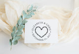 Stamp - Hearts Wreath