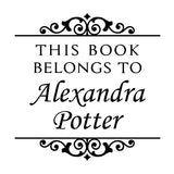 Book Stamp - Alexandra