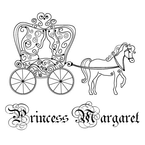 Horse and Carriage Stamp