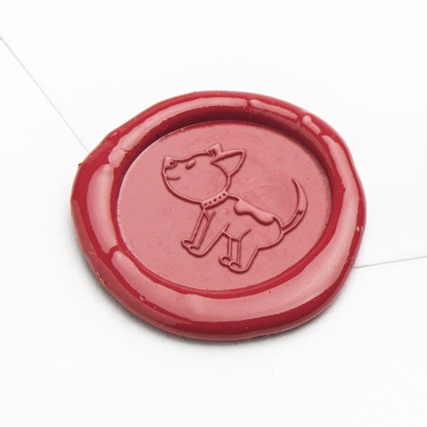 Wax Seal - Cute Dog