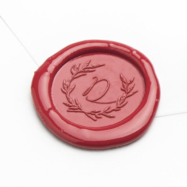 Wax Seal - Fern Initial