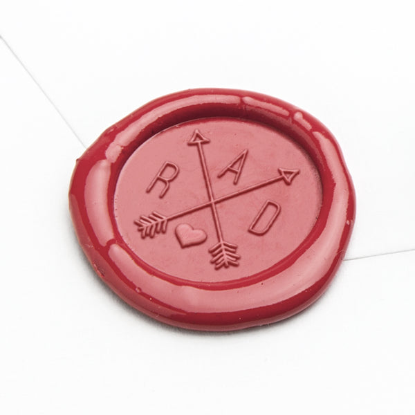 Wax Seal - Criss Cross Arrows