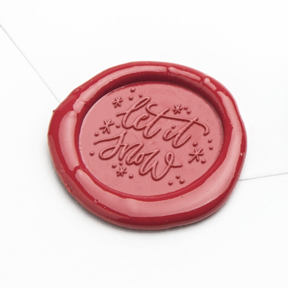 Wax Seal Stamp - Let It Snow